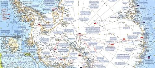Antarctica Map - natgeomaps.com