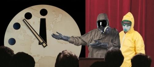 Doomsday Clock Scientists Wearing Hazmat Suits for Some Reason ... - robotbutt.com