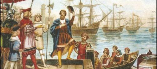 El Almirante del Mar Océano, Cristóbal Colón.