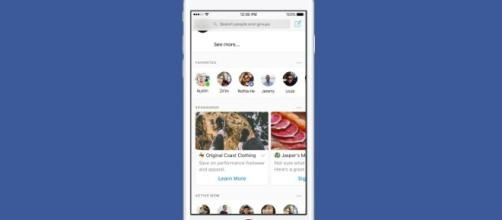 Facebook inizia a testare gli annunci in Messenger.