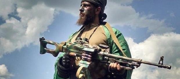 Brasileiro Rafael Marques Lusvarghi, atuante nas milícias de Donbass