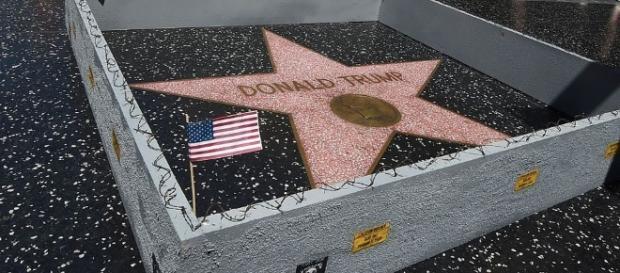 Someone Built A Wall Around Donald Trump's Hollywood Star | U.S. ... - usnews.com