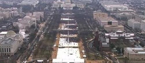 Comparing Donald Trump and Barack Obama's inaugural crowd sizes ... - cnn.com