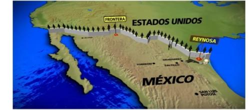 Fronteira Estados Unidos e México