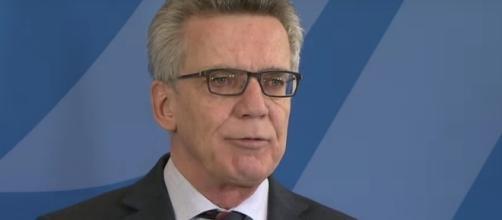 Il ministro tedesco Karl Ernst Thomas de Maizière