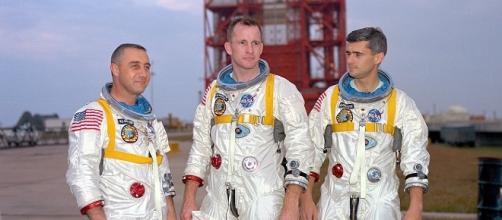 The crew of Apollo 1 (Courtesy NASA)