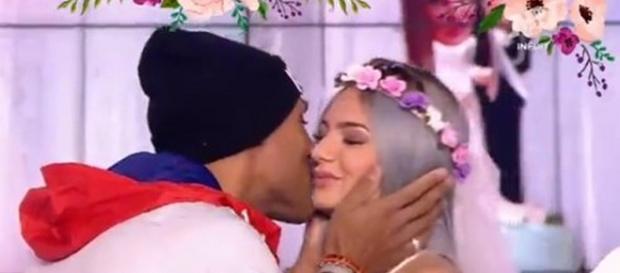 Eve et Florian se sont mariés sur le plateau du Mad Mag le 25 janvier