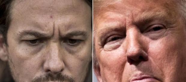 las 6 coincidencias entre Donald Trump y Pablo Iglesias - El Titular - eltitular.es