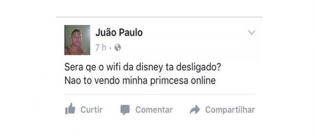 O brasileiro quando quer, é um verdadeiro poeta.