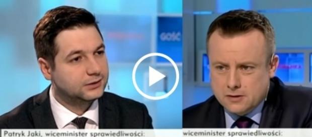 Patryk Jaki nie szczędził krytyki w stronę alimenciarzy i sądownictwa.
