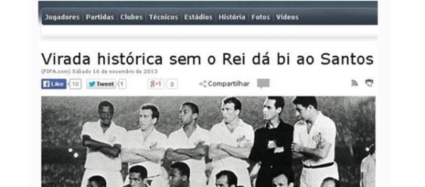 Santos é bicampeão mundial, apesar de a Fifa dizer que não