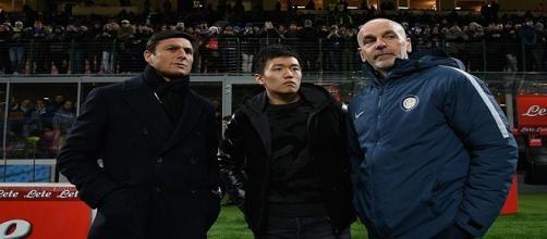 Inter, splendido gesto per il centro Italia