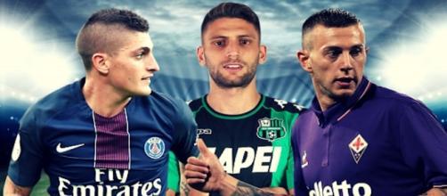 L'Inter continua il pressing su Berardi e Bernardeschi