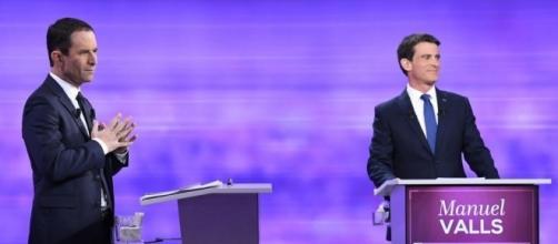 Primaire à gauche: Valls et Hamon débattent avec fougue !
