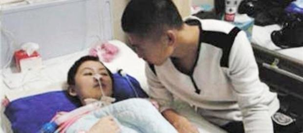 Chinesa entrou em coma após apanhar do namorado