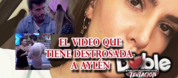 El vídeo que destrozó a Aylén Milla