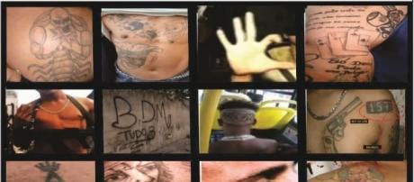 Linguagens simbólicas do crime