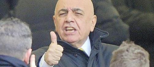 Adriano Galliani, amministratore delegato del Milan