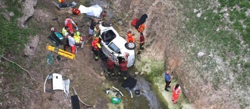 Calabria: auto precipita in un burrone, muore 20enne (foto di repertorio)