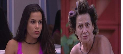 Emilly discute com Ieda e Felipe. (Foto: reprodução TV Globo)