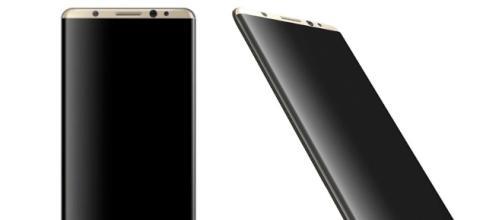 Galaxy S8 secondo le informazioni trapelate. Image credit: Veniamin Geskin
