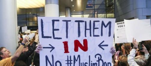 Judge blocks part of Trump's immigration ban for those in US ... - scmp.com