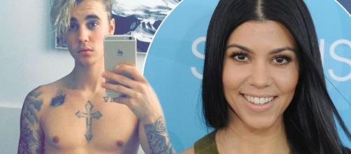 Justin Bieber shows off his ripped body as Kourtney Kardashian ... - mirror.co.uk