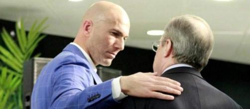 La gran petición de Zinedine Zidane a Florentino Pérez - Diez ... - diez.hn