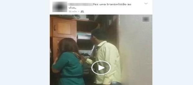 Assaltante transmitiu crime através do Facebook.