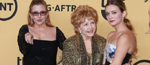 Carrie Fisher - Debbie Reynolds and Billie Lourd - Daily Mail