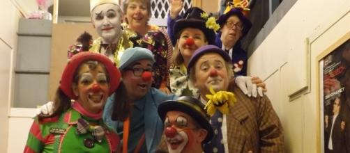 Clown's at last year's gathering. (Photo: Douglas McPherson)