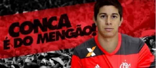 Conca é do Flamengo (Foto: Divulgação)