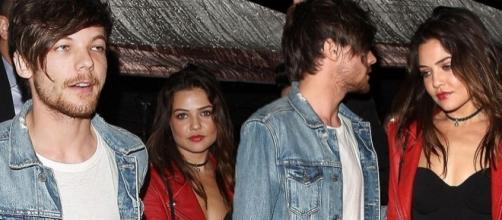 Danielle e Louis Tomlinson estavam namorando há cerca de um ano
