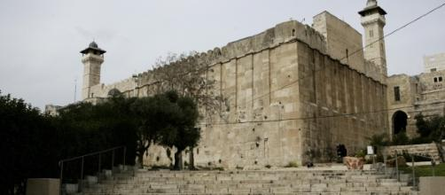La tumba de los patriarcas en Hebron
