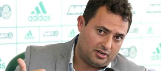 Alexandre Mattos, executivo de futebol do Alviverde