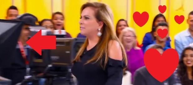 Christina Rocha recebe cantada em programa - Google