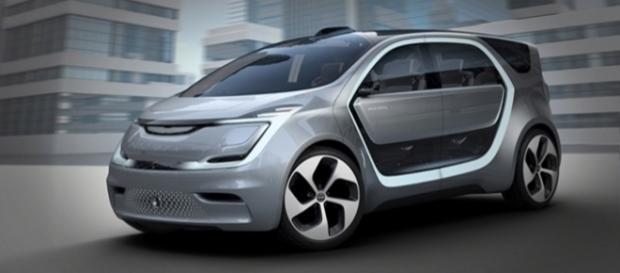 Chrysler Portal Concept é uma van elétrica futurista com tecnologia de ponta