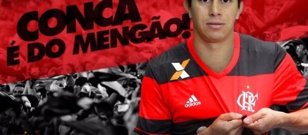 Dario Conca é o novo reforço do Flamengo
