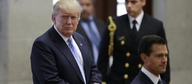 Donald Trump visitó la Residencia Oficial de Los Pinos durante su campaña a invitación del Gobierno mexicano