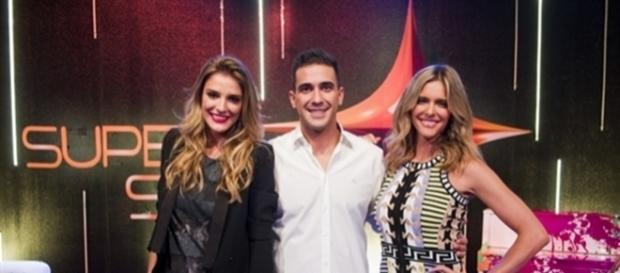 Imagem: Rafa Brites, Fernanda Lima e André Marques no 'Super Star'