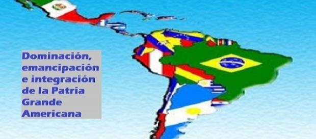 Mapa visión de integración de Latinoamérica y El Caribe