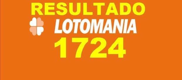 Resultado do jogo Lotomania 1724