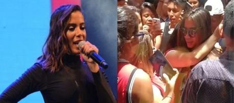 Anitta faz grosseria com fãs (foto: reprodução Instagram)