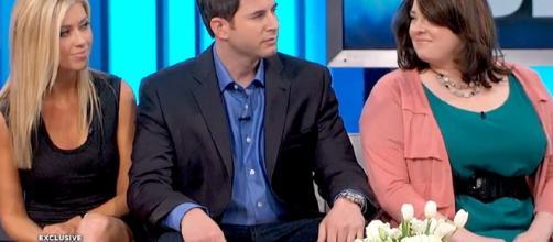 Christina and Tarek El Moussa screen grab from 'The Doctors'