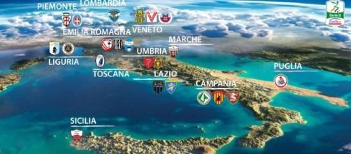 Ecco la bellissima geografia, della Serie B 2016-17