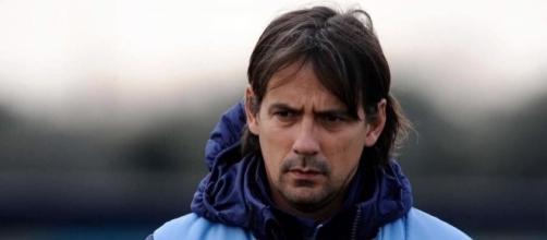 FilippoInzaghi,allenatoredellaLazio.