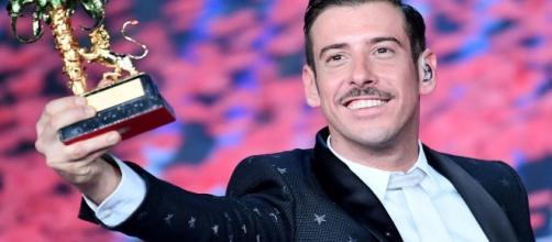 Francesco Gabbani, vincitore di Sanremo 2017