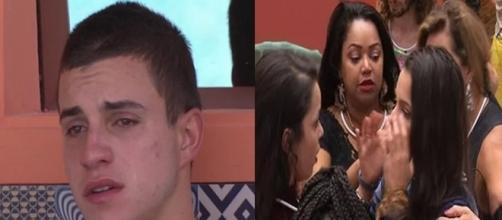 Gêmeos sentem falta dos irmão (Foto: Reprodução TV Globo)