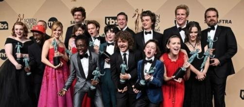 Stranger Things' won the SAG Awards with a powerful message to ... - mashable.com