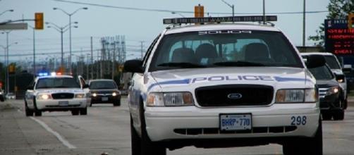 Vetture della polizia canadese